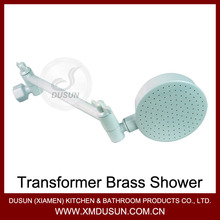 Fujian Xiamen Transformer Brass Shower Head