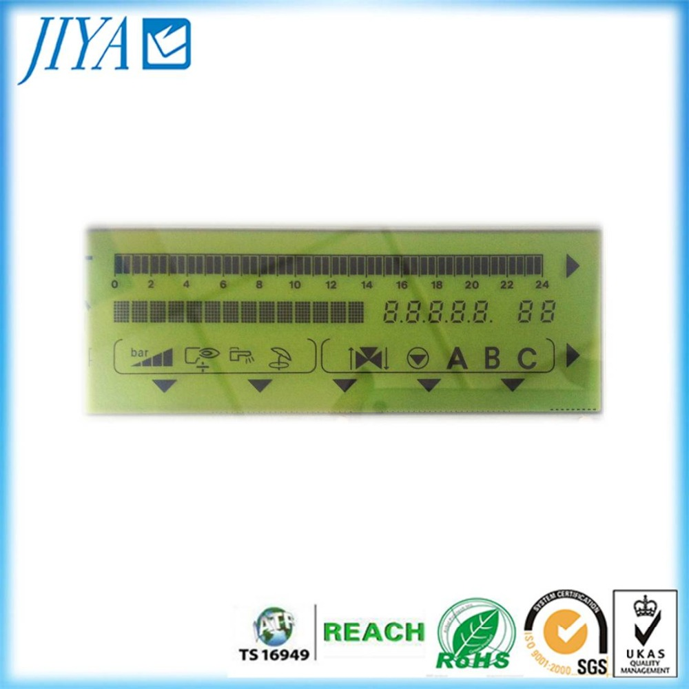 micro segment COG LCD display