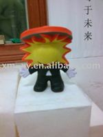 Cartoon mascot,polyurethane decoration