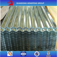 Zinc Pre-painted Corrugated Roofing Metal Sheet