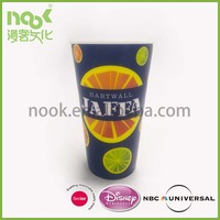 Customized Frosted Plastic Mug, Promotional Hard Frosted Plastic Mug