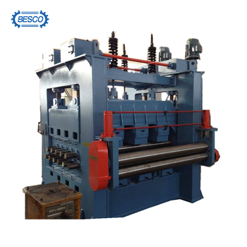sheet metal stretch leveller / leveling machine