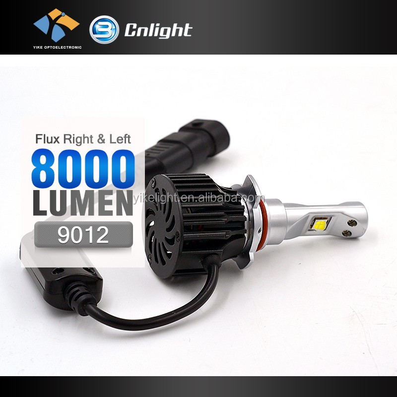 Cnlight Yike Super Powerful Car Headlight 9012 12v 24v led auto light