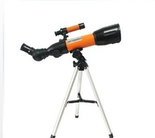 Children sky-watcher telescope achromatic solid refractor 50mm astronomical telescope with findscope 5x24