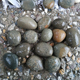 2 - 4cm green natural pebble or cobble stone for garden decoration