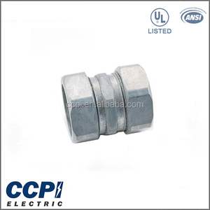 "CCPI China Factory Electrical UL LISTED 1/2""-2"" Die Cast Zinc Adapter EMT Connector"