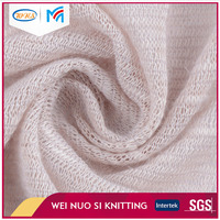 Fashionable new design solid color organic terry cloth cotton fabric