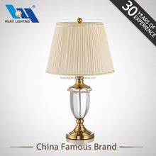 Energy saving beautifully crystal trophy lamp&home goods table lamps