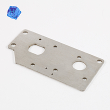 oem laser cutout perforated aluminum electric stamping parts