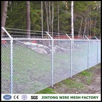 hot dipped galvanized wire mesh steel mesh chain link fences