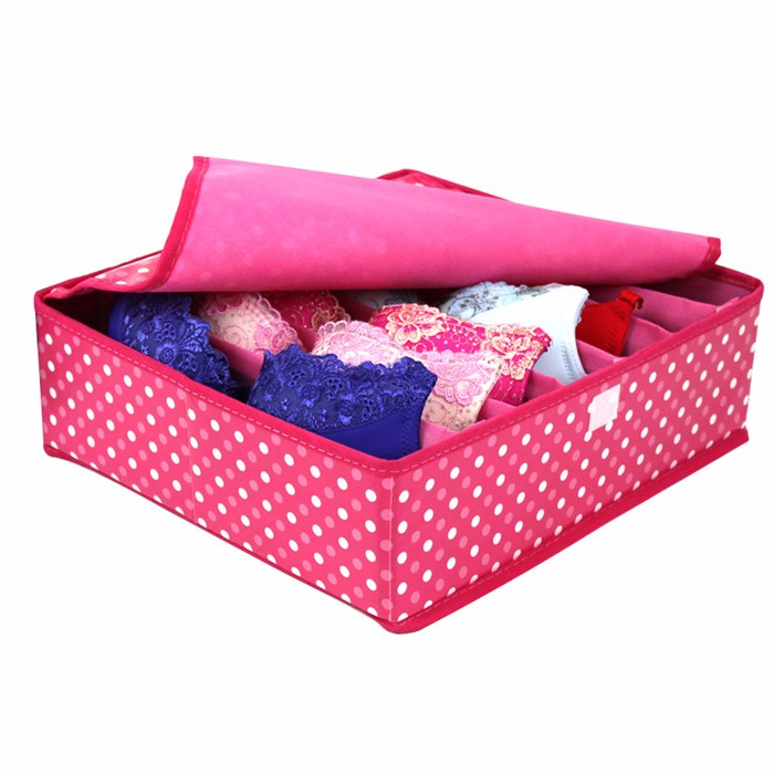 Wholesale customized new fashion storage boxes for lingerie