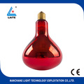 halogen Infrared bulb 100W ES Red Lamp E27 base for healthcare and bodycare