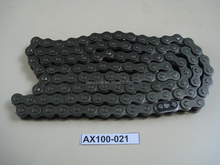 China motorcycle parts CADENA 428-112 (KMC) AX100