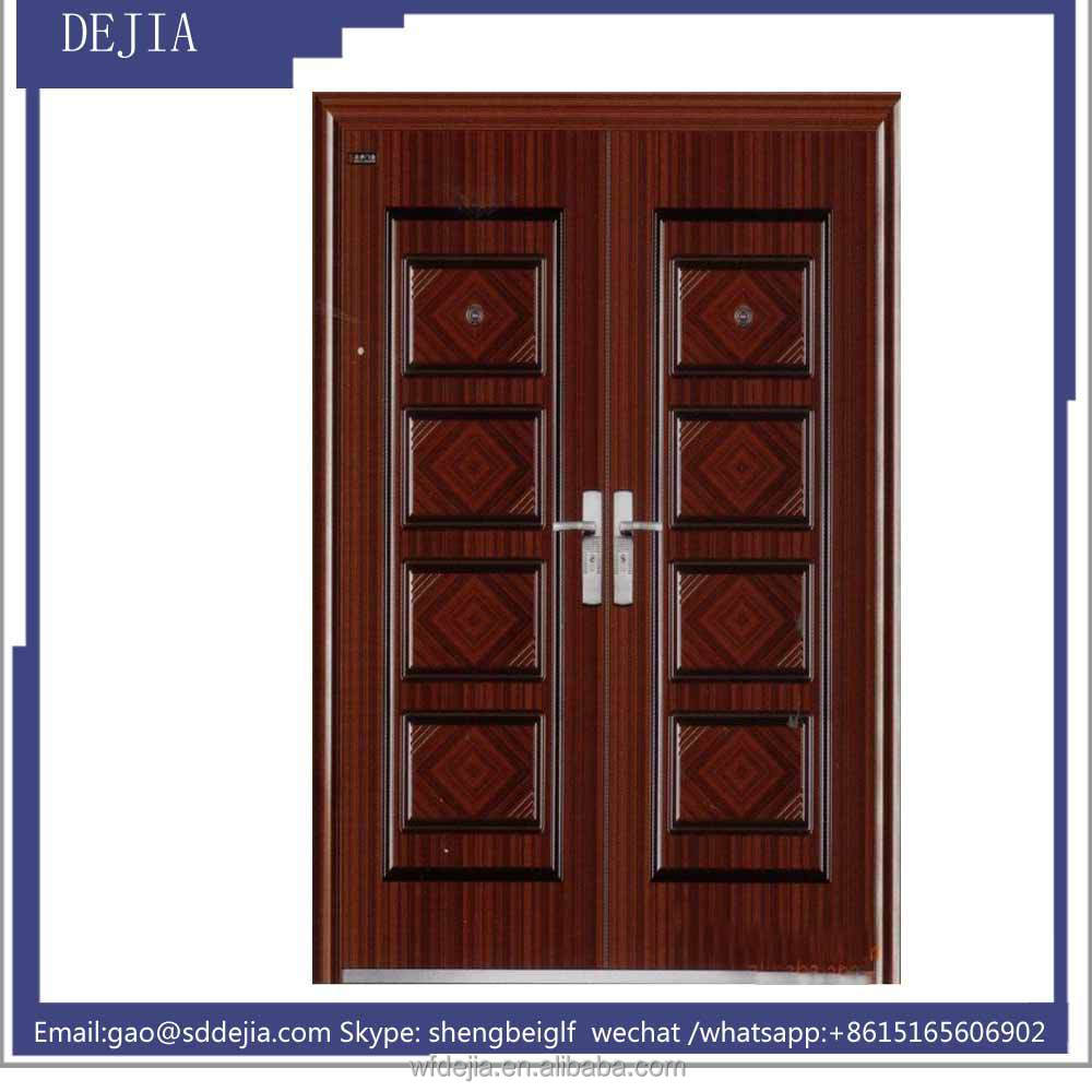 commercial double steel doors