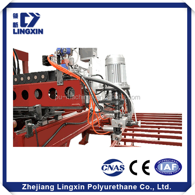 High production efficiency ISO 9001 electrical cabinet pu polyurethane casting machine