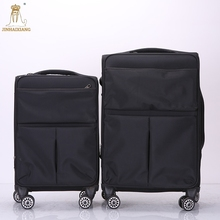 2018 new design luggage fabric trolley luggage sets mini suitcase 4 wheels from Baigou suppliers
