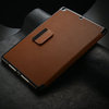 Fashion flip cover for ipad 5 with stylus slot , stand case for ipad air , for ipad air leather case