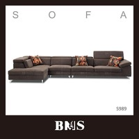Africa style new recliner Germany corner sofa