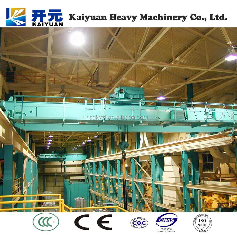 Steel Plant Used Overhead/Bridge Casting Crane YZ Type for Sale