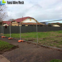 Anping factory Australia standard high quality strong galvanized temporary fence for sale