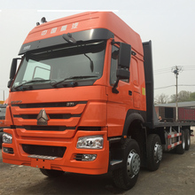 HOWO 371HP 8x4 40T Flat Lorry Truck /Flat Bed Vehicle