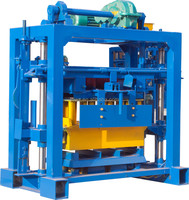 Small Low Cost Manual Hollow Wall Block Forming Machine