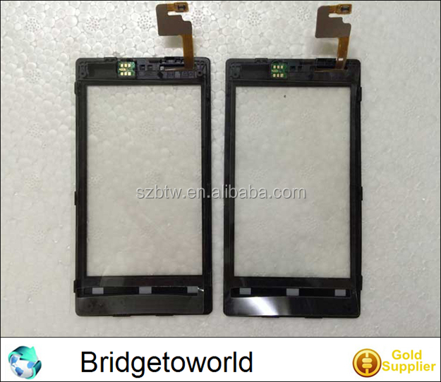 Touch For Nokia Lumia 520 Touch Digitizer Panel glass with frame for Ebay Seller