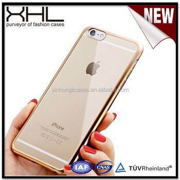 Wholesale China electroplating tpu case, electroplating mobile phone case for iphone 7