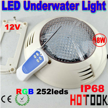 swimming pool flat led lights Warranty 2 years CE RoHS