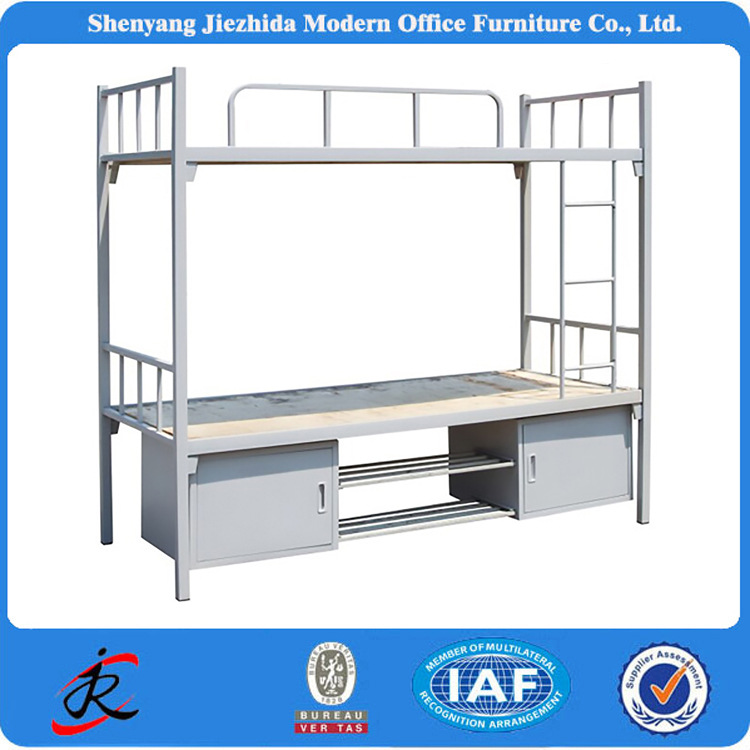 military hotel hostel kids adult strong metal multifunction bunk <strong>bed</strong> with stairs