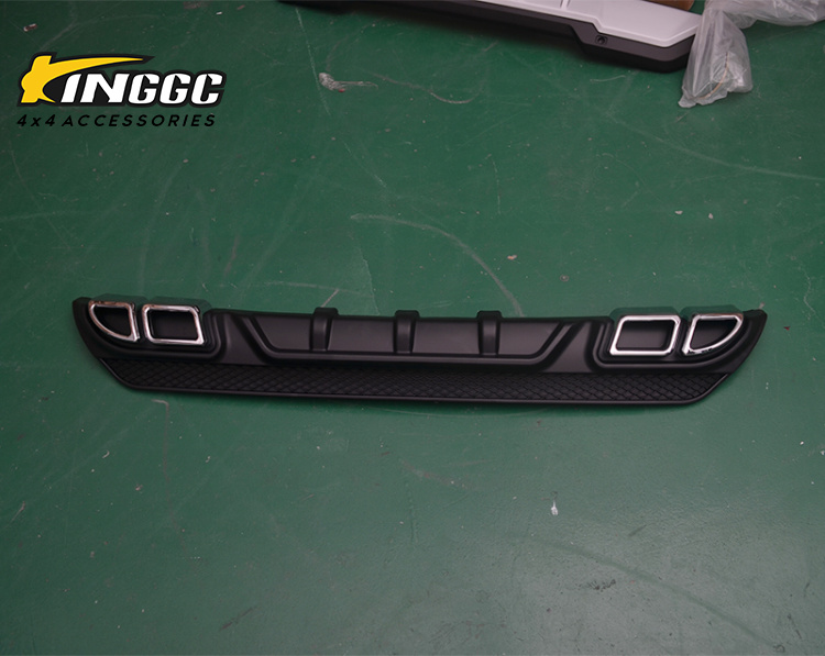 4x4 New product Vehicle Auto parts rear bumper guard for fortuner 2016