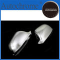 High Quality Auto Parts S line style silver matt chrome side mirror cap replacement (lane assist version) For Audi a4 b8