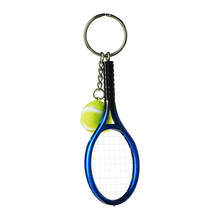 Best selling fashion promotional customized souvenir gift tennis strss ball keychain