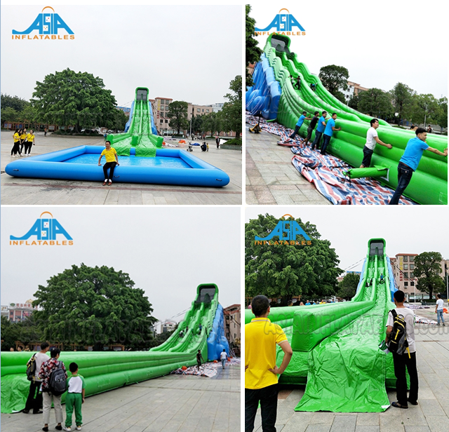 20x20M Theme Park Inflatable Parks Amusement Equipments Custom Inflatable Playground