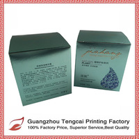 Promotional color paper custom printed hand sanitizer box