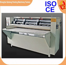 Automatic carton thin blade corrugated cardboard slitter scorer machine