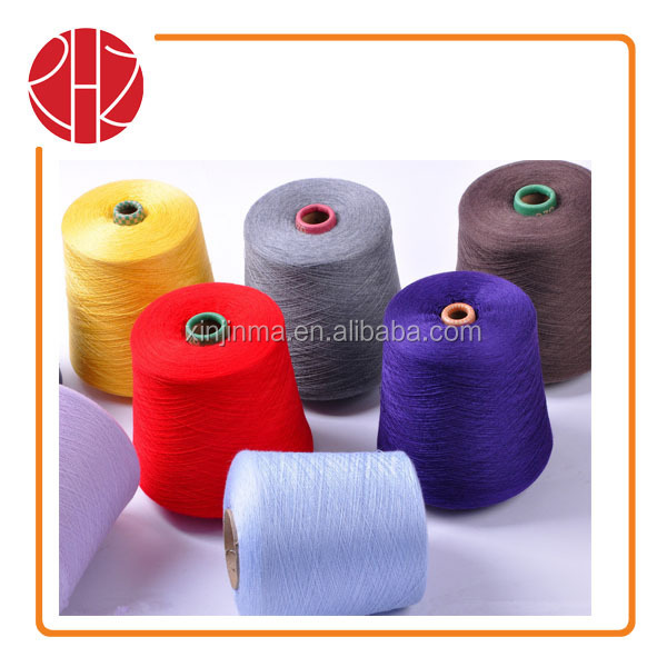 28NM/2 dyed high bulk acrylic yarn by hanks or cone for knitting
