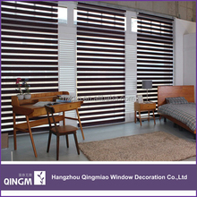 Soft Blinds Roller Type and Slat Style Zebra Blinds Curtains