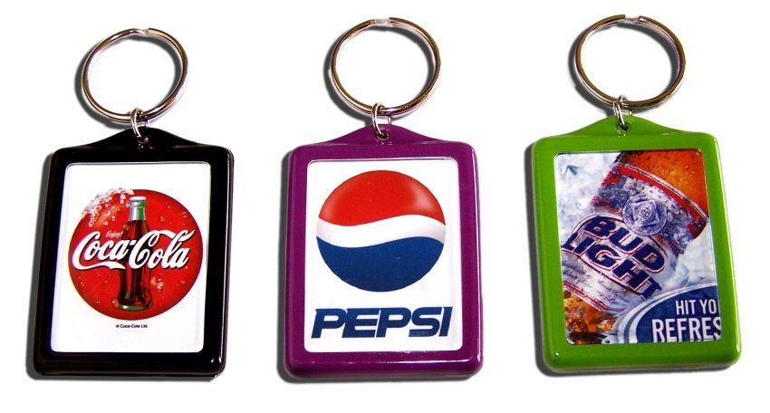 Color Promotional Key Chain