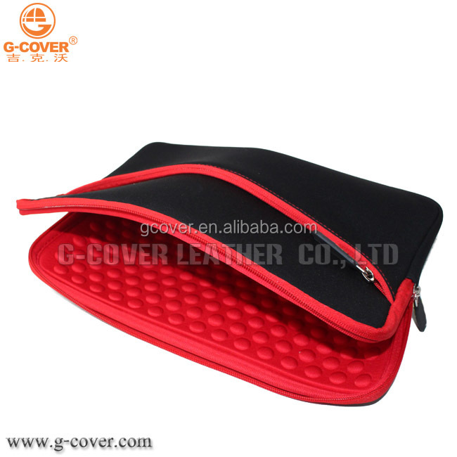 "11.6 Inch Neoprene Sleeve Case with accessory pocket for 11.6"" Laptop Macbook Ultrabook Chromebook"