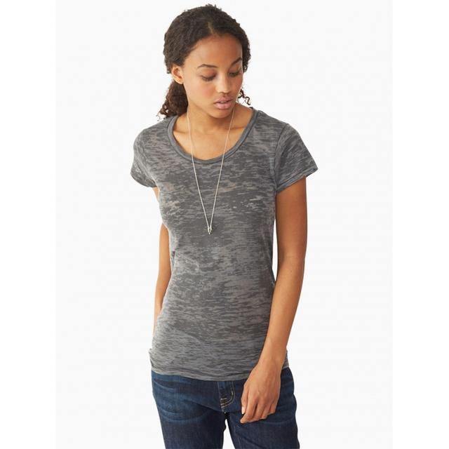 Men t shirt gray burnout t shirt unisex custom tee top