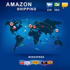FBA Amazon DDP DDU service sea freight shipping rates from china to usa for 2018 Amazon hot products---skype: bonmedjoyce