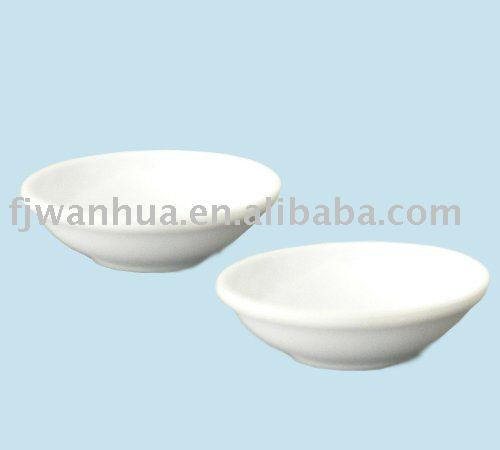 Plastic japanese soy sauce dish