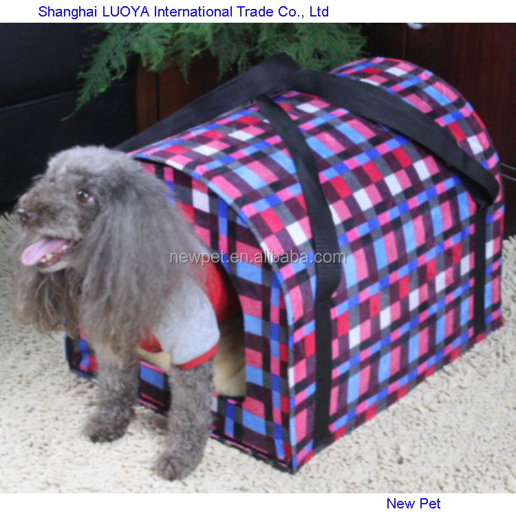 Different styles direct sale warming houses dog carrier small pet house for dog