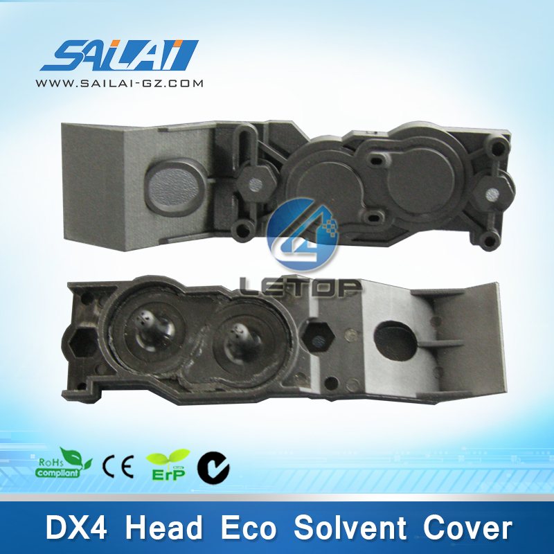 On sales!! roland printer dx4 print head cover for roland SJ/FJ/XC/VP/SP-540/640/740 eco solvent printer (included seal rubber)