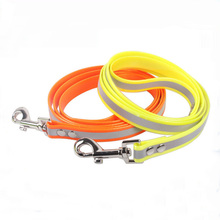 Strong elastic tensile name brand TPU dog collars and leashes