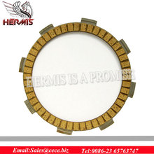 Motorcycle Clutch Disc CG125 paper base, Top Quality CG125 Clutch Friction Plate 100cc Factory Sell