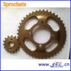 SCL-2014030515 For HONDA Parts Cheap Motorcycle Chain Sprocket Price