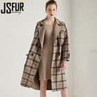 Europe Style Women Winter Wool Coat Ladies Elegant Winter Warm Coat