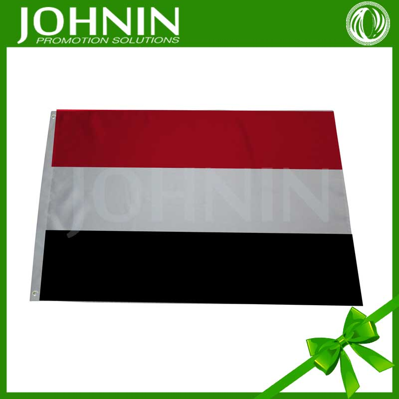 Hot Selling Supply By Factory Directly Red White Black Yemen Flag
